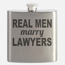 Real Men Marry Lawyers Flask