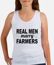 Real Men Marry Farmers Tank Top