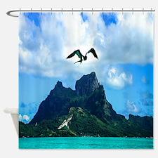 Bird In Flight Shower Curtain