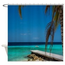 Cute Beach scenes Shower Curtain