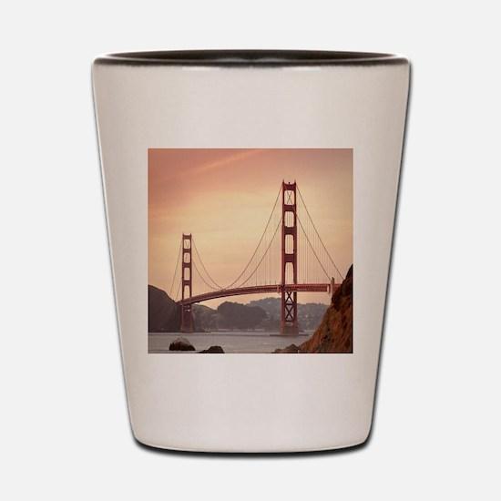 Beautiful Golden Gate Bridge Shot Glass