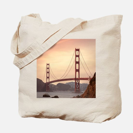 Beautiful Golden Gate Bridge Tote Bag
