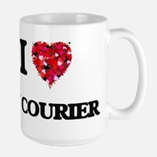 I love My Courier Mugs