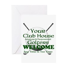 club house Greeting Cards
