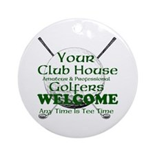 club house Ornament (Round)
