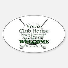 club house Decal
