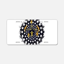 RightOn Madridista Aluminum License Plate