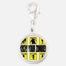 zombie, state of decay Silver Round Charm