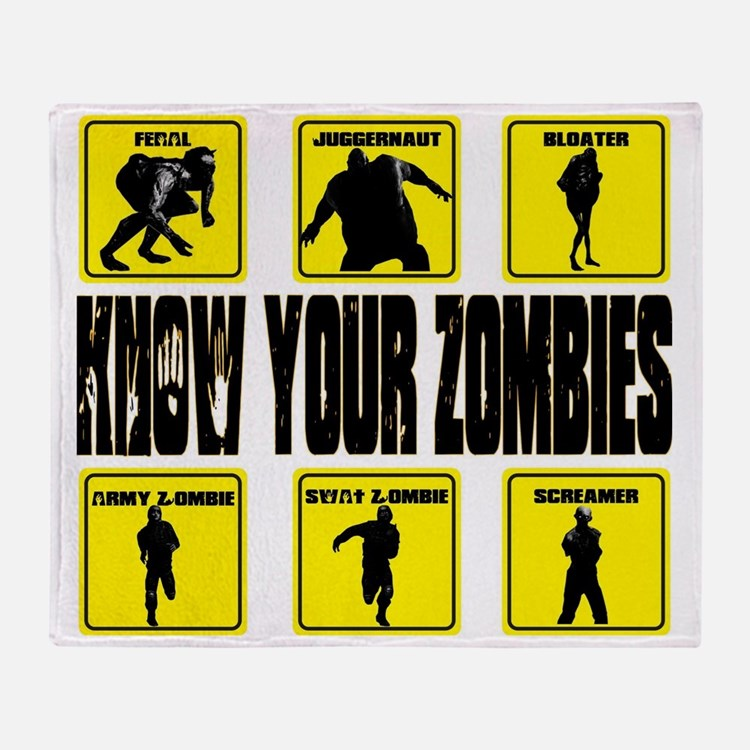 zombie, state of decay Throw Blanket