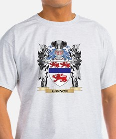 Gannon Coat of Arms - Family Crest T-Shirt