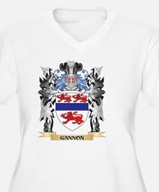 Gannon Coat of Arms - Family Cre Plus Size T-Shirt
