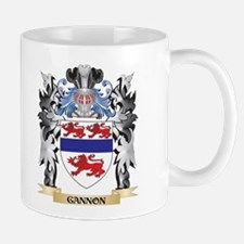 Gannon Coat of Arms - Family Crest Mugs