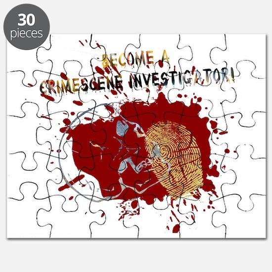 Become a Crime Scene Investigator Puzzle