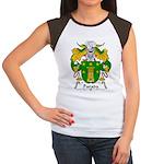 Parada Family Crest Women's Cap Sleeve T-Shirt