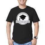Class of 2017 grad Men's Fitted T-Shirt (dark)