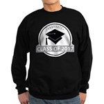 Class of 2017 grad Sweatshirt (dark)