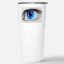 Blue Eye Stainless Steel Travel Mug