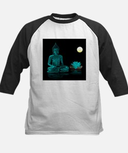 Teal Colour Buddha Baseball Jersey