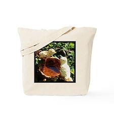 Birds in the garden Tote Bag