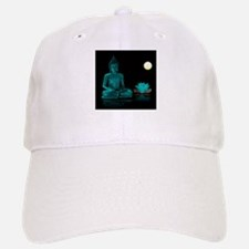 Teal Colour Buddha Baseball Baseball Cap