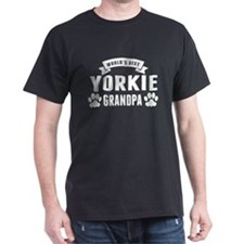 Worlds Best Yorkie Grandpa T-Shirt