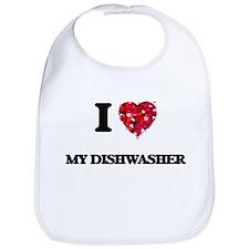 I Love My Dishwasher Bib