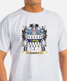Garret Coat of Arms - Family Cr T-Shirt