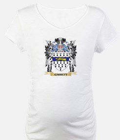Garrett Coat of Arms - Family Cr Shirt