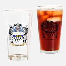Garrett Coat of Arms - Family Crest Drinking Glass