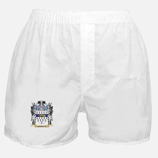 Garrett Coat of Arms - Family Crest Boxer Shorts