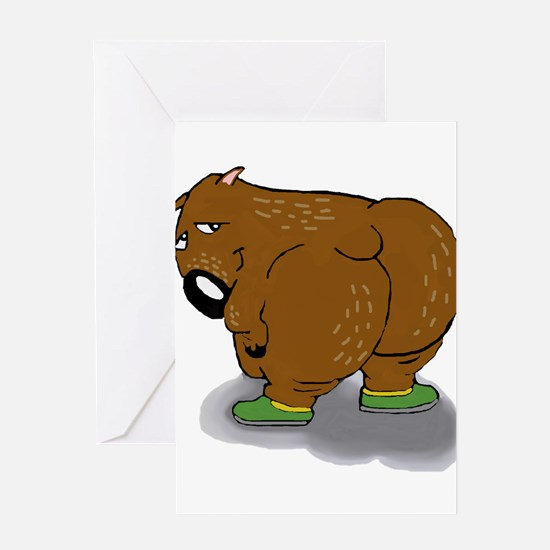 Wombat Greeting Cards