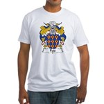 Pais Family Crest Fitted T-Shirt
