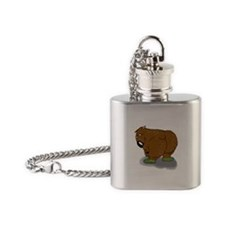 Wombat Flask Necklace