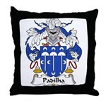 Padilha Family Crest Throw Pillow