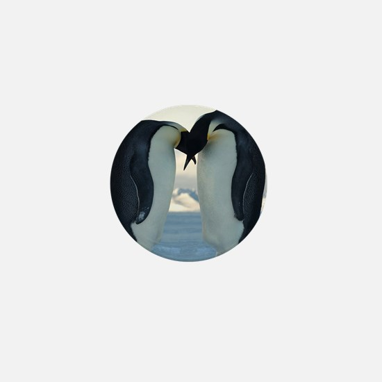 Emperor Penguin Courtship Mini Button