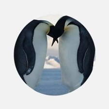 Emperor Penguin Courtship Button