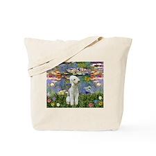 Lilies / Bedlington T Tote Bag
