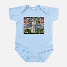 Lilies / Bedlington T Infant Bodysuit