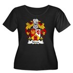 Novoa Family Crest Women's Plus Size Scoop Neck Da