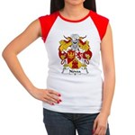 Novoa Family Crest Women's Cap Sleeve T-Shirt