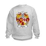 Novoa Family Crest Kids Sweatshirt
