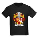 Novoa Family Crest Kids Dark T-Shirt