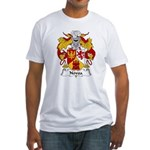 Novoa Family Crest Fitted T-Shirt