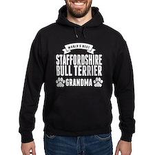 Worlds Best Staffordshire Bull Terrier Grandma Hoo