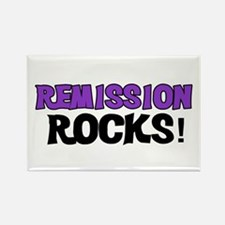 Remission Rocks Rectangle Magnet