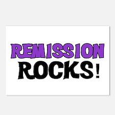 Remission Rocks Postcards (Package of 8)