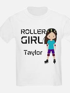 Rollergirl Brunette T-Shirt