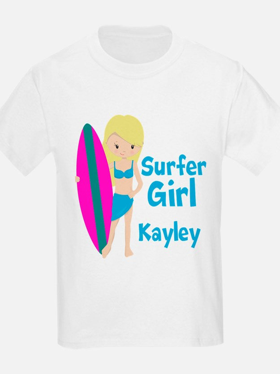 Surfer Girl Blonde T-Shirt