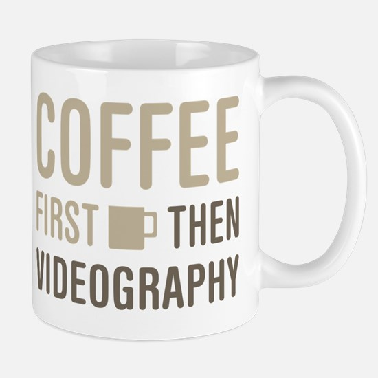 Coffee Then Videography Mug