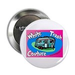 White Trash Couture BluePink Button